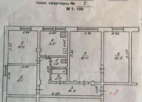 От хозяина - фото. Купить четырехкомнатную квартиру от хозяина без посредников, Лесной, Коммунистический проспект, 7В - фото.